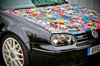 Folie Stickerbomb 100x50